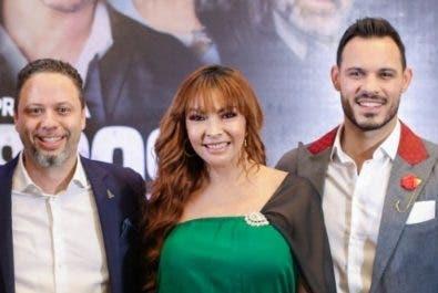 """Parte del elenco de la telenovela  """"La última esposa""""."""