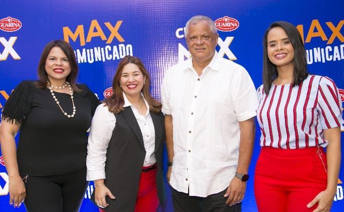 Elizabeth Robles, Nicole Mejía, Roberto Mata y  Mariela Lamarche.