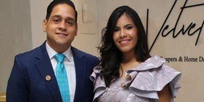 Jorge Suriel (hijo) y Dahianna Ángeles.