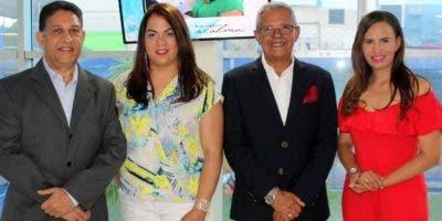 Rafael Collado, Milena Delgado, Plácido Rosa y Odil Beato.