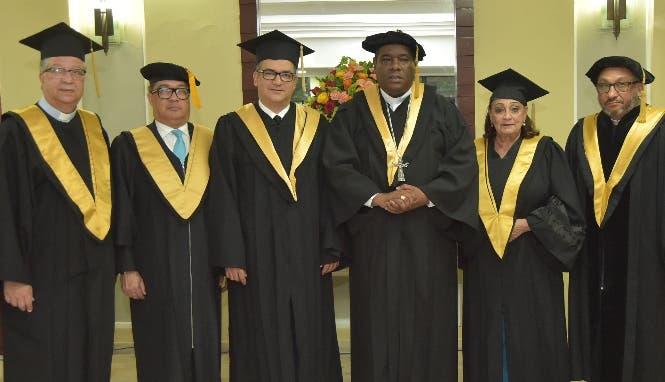 Ramón García, Manuel Peña, Román Jáquez Liranzo, Jesús Castro Marte, Zeneyda de Jesús y Francisco Cruz.