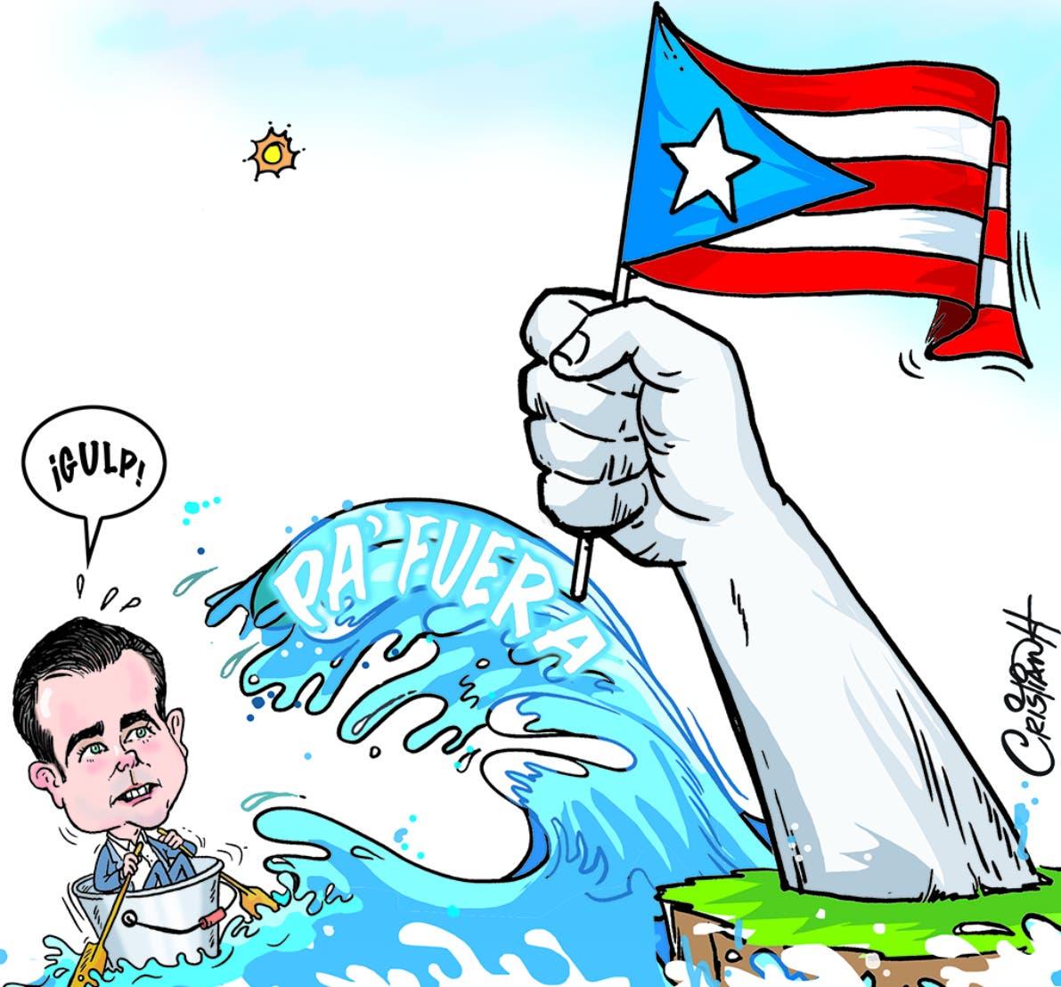 6. Caricatura de El Día, por Cristian Hernández.