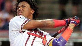 El venezolano Ronald Acuña está proyectado para convertirse en  una de las grandes estrellas de Grandes Ligas.