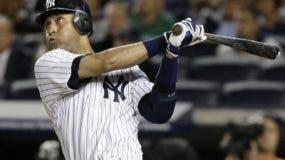 Derek Jeter cuando  brillaba con los Yankees de New York, su equipo de toda la vida. AP
