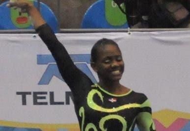 Yamilet Peña, gimnasta.
