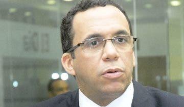 Andrés Navarro, precandidato a la Presidencia por el PLD.