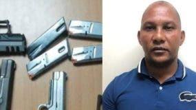 """""""Julio Kilo"""" fue detenido hace poco con armas.  Archivo"""