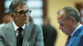 Dos de los implicados en los sobornos pagados por  Odebrecht. Foto  de archivo.