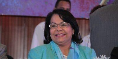 Emma Polanco celebró hoy su primer año  como rectora de la UASD.