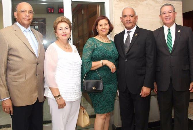 Antonio Rodríguez, Angelita Tejeda, Ana Victoriano Moreno, Pedro Rodríguez Montero y Wilson Gómez.