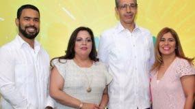 Roberto Caraballo, Carolina Pantaleón, Luis Fernando Enciso y Carmen Páez.