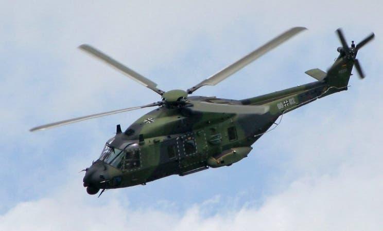 Se estrella helicóptero militar en Alemania; un muerto