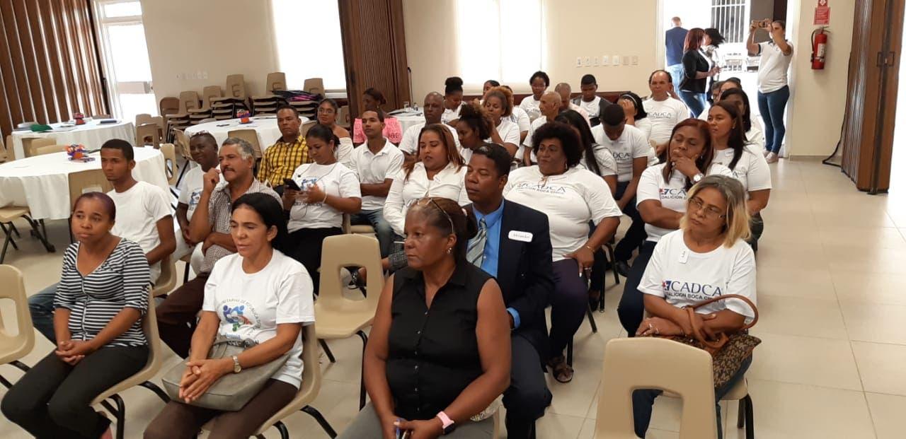 Se han capacitado 74 personas de Boca Chica y el distrito municipal de Pantoja.