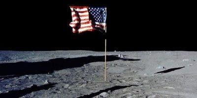 ¿Por qué la bandera de Estados Unidos ondea en la Luna si no hay viento?