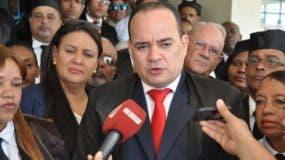 Miguel Surun, presidente del Colegio de Abogados.