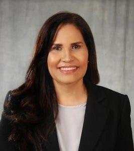 Maritza Hernández, precandidata presidencial del Partido de la Liberación Dominicana (PLD).