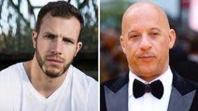 Joe Watts (derecha) actuaba en la cinta de Fast & Furious como doble del protagonista, Vin Diesel (izquierda). Según las primeras informaciones, el accidente se produjo al romperse un cable de seguridad (Foto: Instagram @VinDiesel/Facebook Joe Watts).