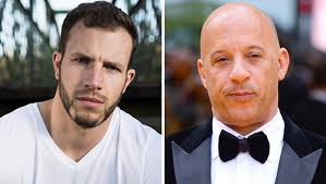 Joe Watts (derecha) actuaba en la cinta de Fast & Furious como doble del protagonista, Vin Diesel (izquierda). Según las primeras informaciones, el accidente se produjo al romperse un cable de seguridad (Foto: Instagram @VinDiesel/Facebook Joe Watts).