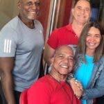 Raeldo Lopez, Enrique Quailey, Liondy Ozoria y Sarine Feliz.