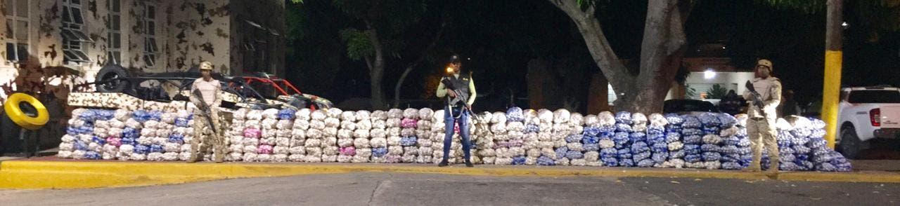CESFRONT incauta más de 6 mil libras de ajo en Montecristi