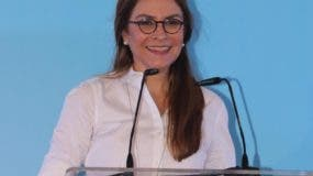 Carolina Mehía, secretaria general del PRM.