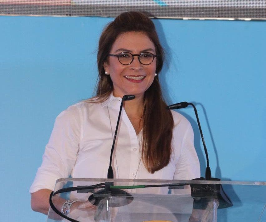 Carolina Mehía, secretaria general del PRM.