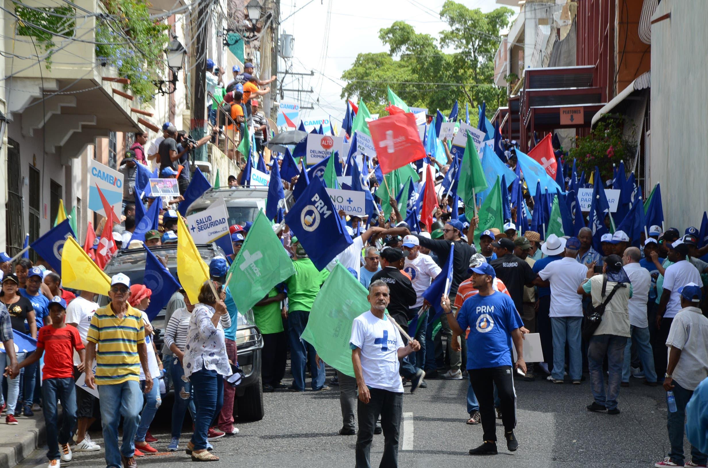 6. La Coalición Democrática llamo a construir y expandir de inmediato una gran unidad nacional para derrotar cualquier forma de continuidad en el poder a Danilo Madina y Leonel Fernández y el PLD