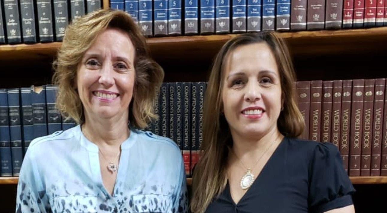 Fabiana Valecillos y Claudia Defilló.
