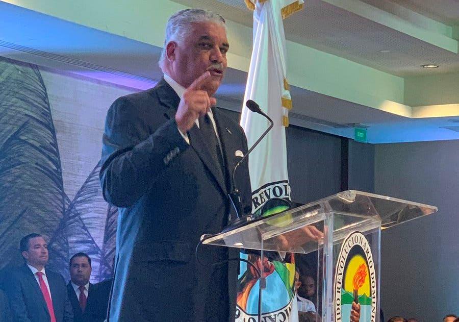 Miguel Vargas Maldonado condicionó la alianza con el PLD.