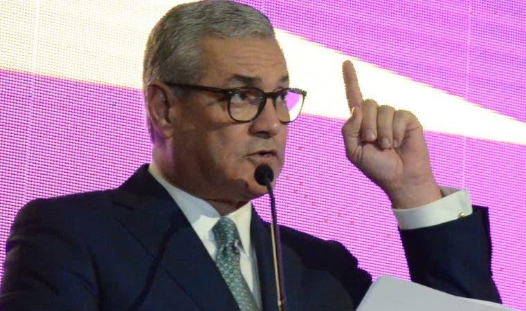 Habló sobre sus aspiraciones presidenciales.  José de León
