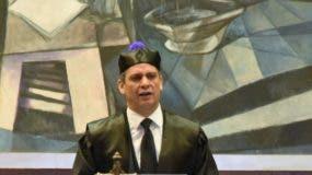 El presidente  Suprema Corte de Justicia, Henry Molina.