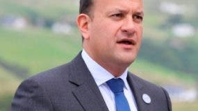 Leo Varadkar,  primer ministro irlandés.