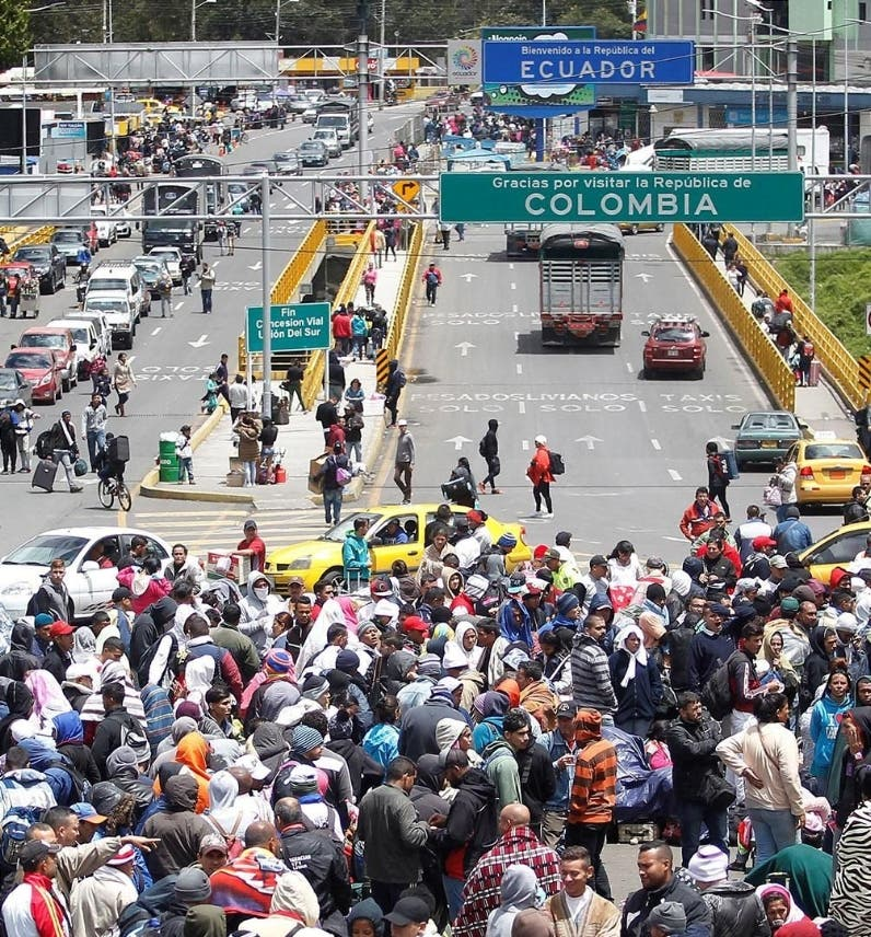 Venezolanos solo podrán entrar a Ecuador con visa