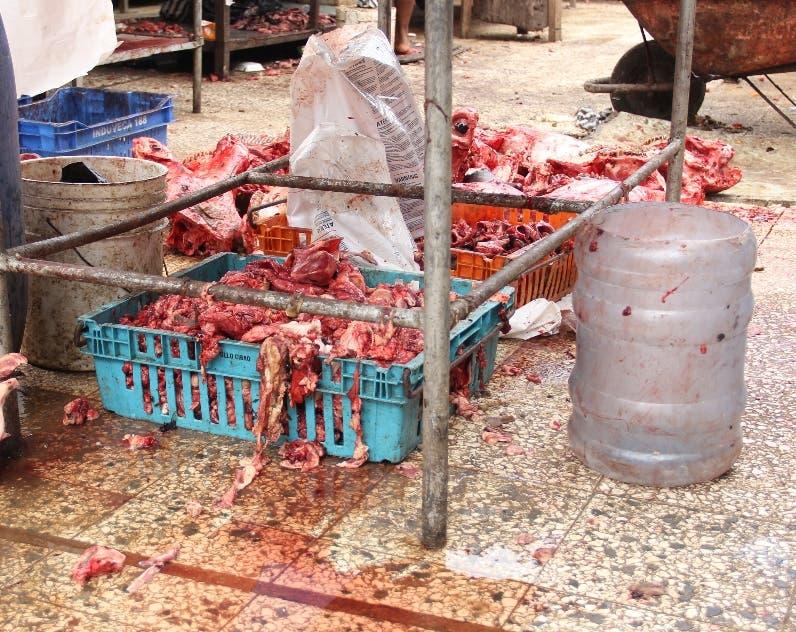 Proconsumidor cierra carnicerías por insalubridad