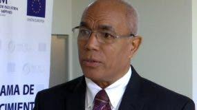 Juan Tomás Monegro, viceministro Desarrollo del MIC.