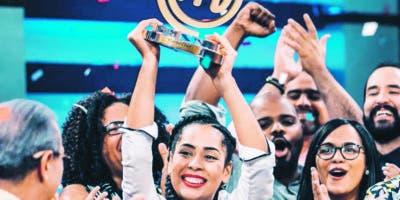 Nathaly Ramírez fue la ganadora  Masterchef RD.