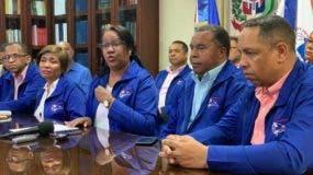 Xiomara Guante habló hoy en rueda de prensa.
