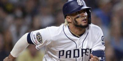 Fernando Tatis Jr. está teniendo una gran temporada para los Padres de San Diego.   Ap