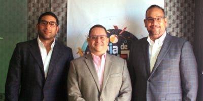 Raúl Peralta Rizik, Guido Gil y   Luis Molina, durante la rueda de prensa.