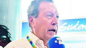 Vinicio Cerezo,  secretario general del Sica.