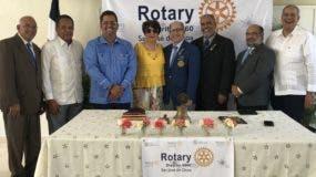 Iván Mancebo encabeza la nueva directiva para el periodo 2019-2020 del Club Rotario San José de Ocoa.