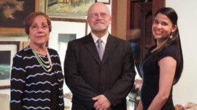 Elba Russo Ángel Luis Fernández y Judit Mueses.