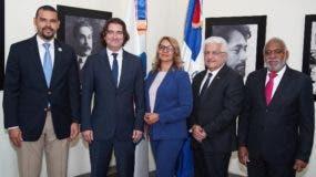 Jonathan Báez, Jesús Gambín López, Aidita Tavárez, Angel Balin~o y Plácido Gómez.