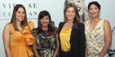 Franchesca Ortiz, Carolina Fernández, Patricia Ramella y Miosotis Rossi.