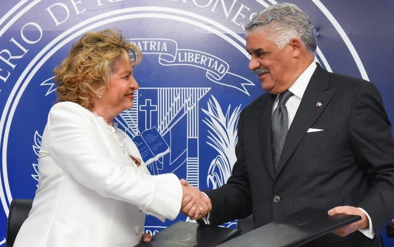 Alexandra Izquierdo y  Miguel Vargas.  fuente externa