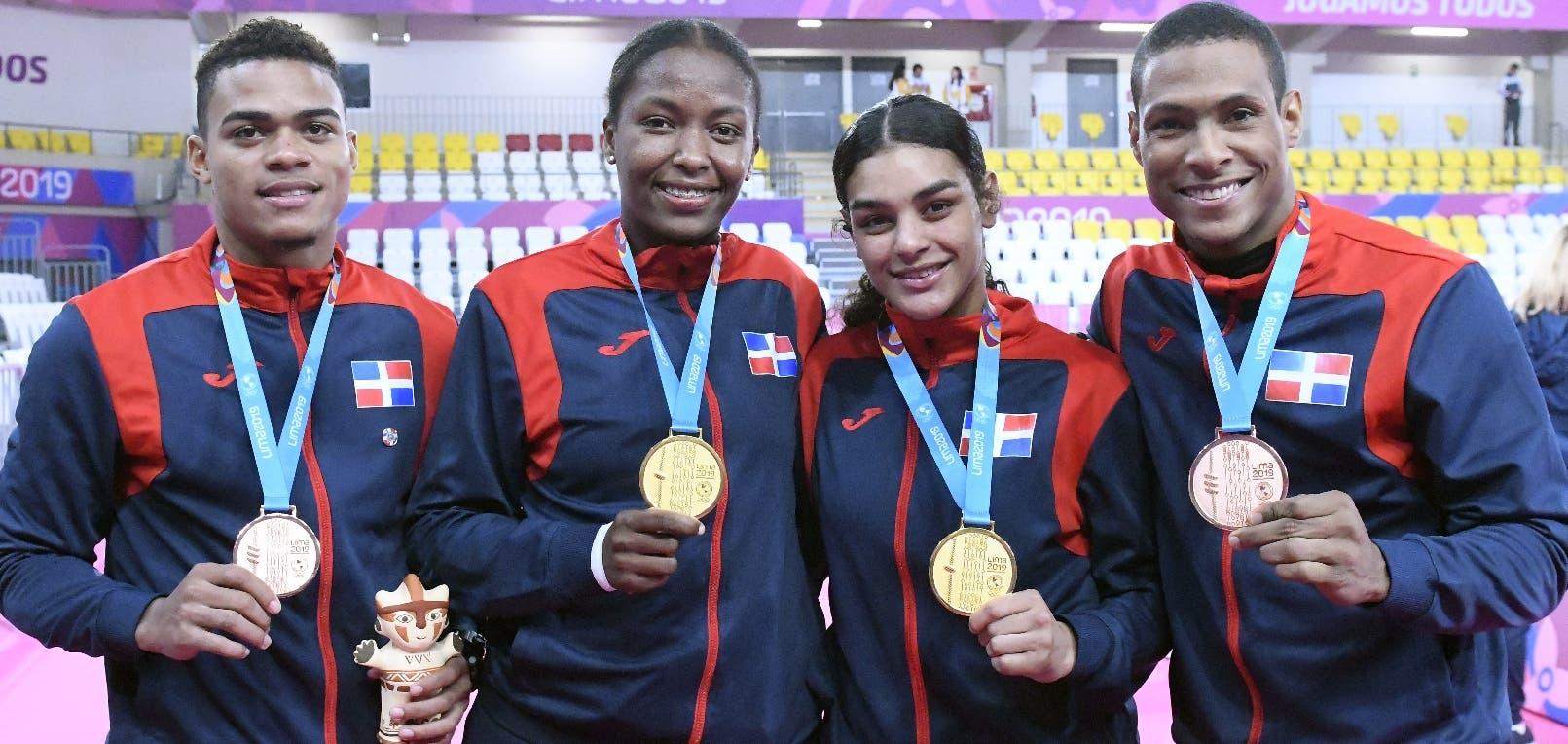RD supera expectativas Juegos Panamericanos ganando 40 medallas