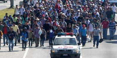 Estados Unidos apoya economiamente el freno migratorio de México en la frontera sur.