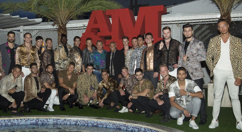 Los concursantes del Men Universe 2019.