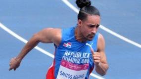 Luguelín Santos, esperanza de medalla para el país.archivo