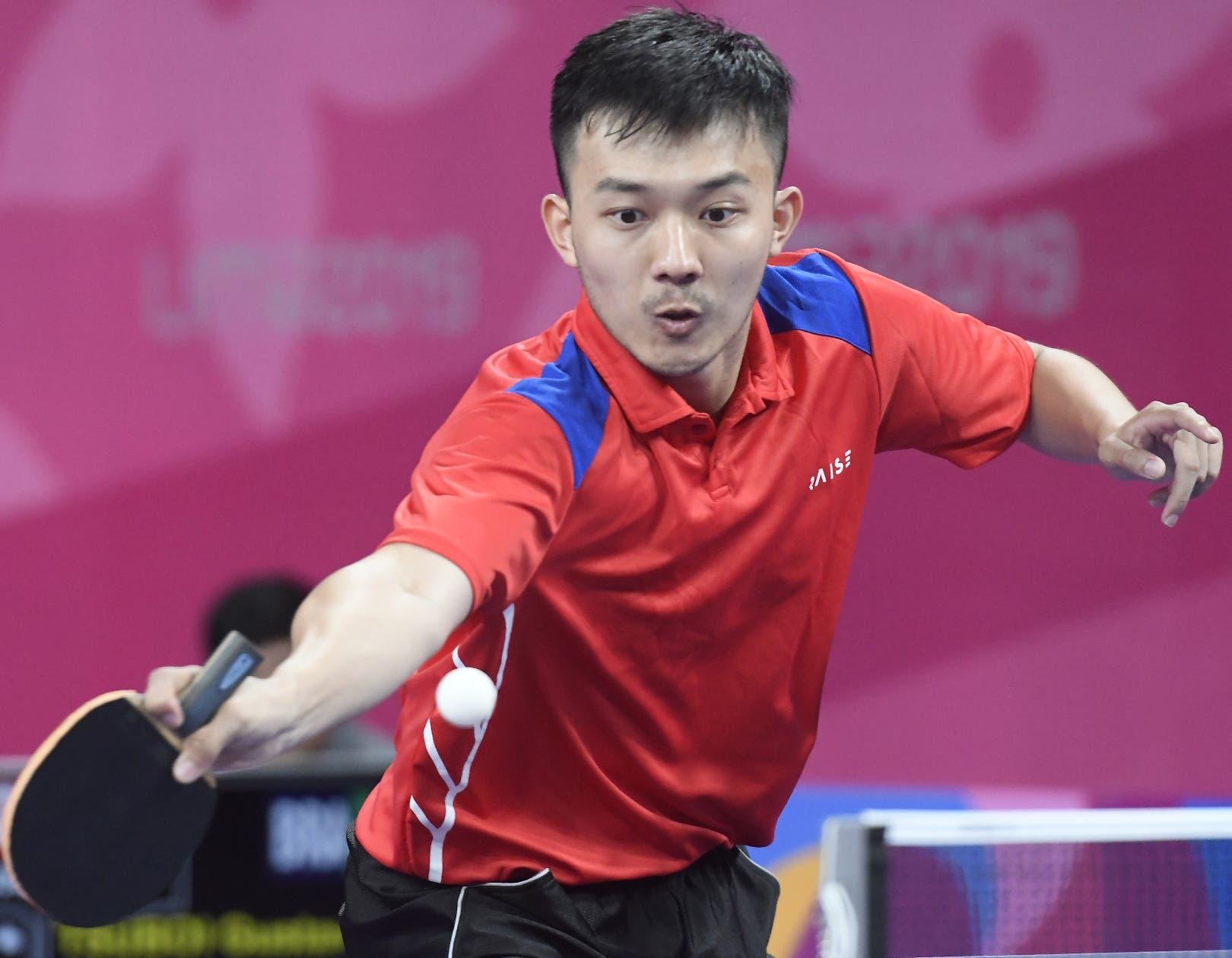 Jiaji Wu se queda con plata en tenis de mesa Panam